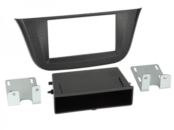 2-DIN Radioblende mit Fach Iveco Daily 2014->