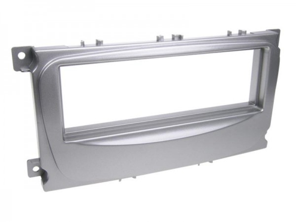 1-DIN Radioblende Ford S-Max / Focus / Galaxy / Mondeo silber